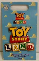 Toy Story Land Logo Grand Opening 2018 Box Lunch Enamel Pin Limited Release