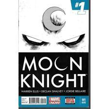 Moon Knight #1 Marvel Comics 06/2014 2nd Second Printing RARE scarce comic books