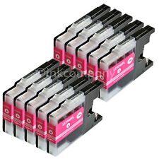 10 Druckerpatronen magenta LC1240 XL für DCP J525W J725DW J925DW MFC J430W J5910