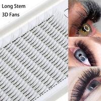 Eye Lash Extension 3D Russia Premade Volume Fans Faux Mink Hair False Eyelashes~