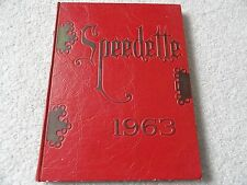 1963 Speedway High School Yearbook from Indiana