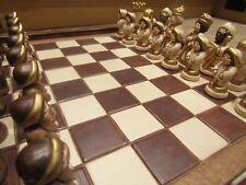 Very Rare & Collectible Chess Set - Art Studio of Countess Thun, Switzerland VGC
