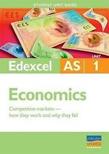 Edexcel AS Economics: Unit 1: Competitive Markets, How They Work and Why They Fa
