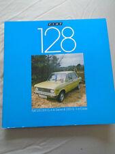 Fiat 128 1300 CL 4 door saloon & 1300 CL 3dr Estate brochure Sep 1977