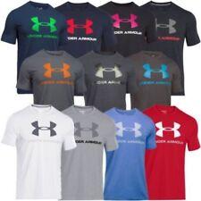 Unifarbene Herren-Sport-T-Shirts mit Rundhals