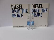 Lot of 10 pc Diesel Only The Brave edt Men sample vials ~ each 1.5ml