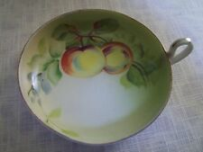 Nippon Fruit Porcelain Candle Drip Plate Hand Painted