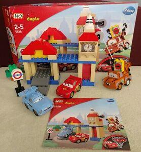 Lego Duplo Cars 2 5828 - Big Bentley - Complet Disney Pixar Londres McQueen Finn
