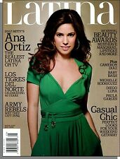 Latina - 2008, May - Ugly Betty's Ana Ortiz, Casual Chic, Los Tigres Del Norte