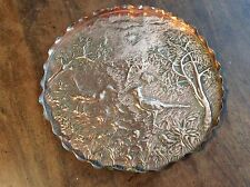 Embossed Copper Tray C1900