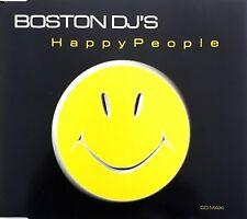 Boston DJ's Maxi CD Happy People - France (M/M)