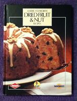 🌼VINTAGE🌼1984 Dried Fruit & Nut Recipes Hard Cover Cookbook Sun-Maid FREE SHIP