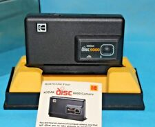 Vintage Kodak Disc 6000 Camera with Instructions