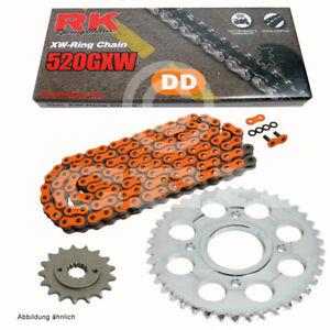 Kit Chaîne Husaberg FS 570 E Super Motard 10-11 Chaîne RK DD 520 Gxw 118 Orange