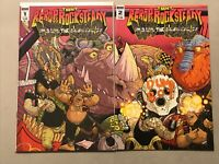TMNT Bebop /& Rocksteady Destroy Everything #1 Exclusive Massivecon Variant