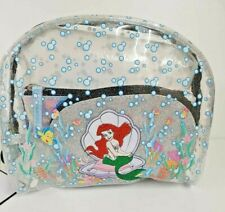 Disney Little Mermaid Cosmetic Wash Make-Up Bag 3 X Set Pouch Primark