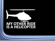 "Helicopter My Other Ride 6"" sticker J781 decal sticker pilot"