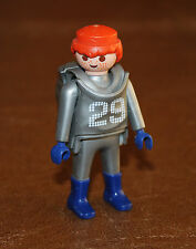 Playmobil pompiers homme pompier en combinaison argent 4825 6288