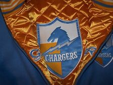 Mitchell & Ness Chargers reversible wool jacket size 52 2xl  new  retail 450$