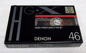 DENON HG-X 46 NICE CASSETTE TAPE  № 398