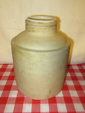 Antique One Gallon Stoneware Water Crock Jar with Ceramic Liner - READ DETAILS!!
