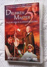 DRUNKEN MASTER 3 (DVD) R-4, LIKE NEW, FREE SHIPPING WITHIN AUSTRALIA