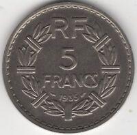 1935 France 5 Francs | European Coins | Pennies2Pounds