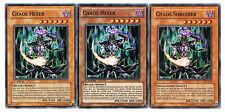 3 x Chaos Hexer  SD6-DE012, DR2-DE023, SDDC-DE014, IOC-DE023