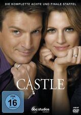 CASTLE DIE KOMPLETTE DVD SEASON 8 FINALE STAFFEL DEUTSCH