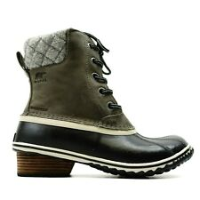 New Sorel Womens US 8.5 EU 39.5 Slimpack Lace II Waterproof Winter Lace Up Boots