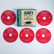 Sharpe's Fury by Bernard Cornwell (CD-Audio, 2006) 5 Disc Audio Book Abridged