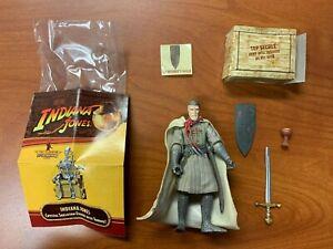 Hasbro Indiana Jones Last Crusade Grail Knight Action Figure 100% COMPLETE HOT