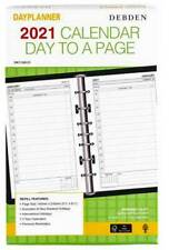 Dk1100 2021 Dayplanner Diary Refill Debden Desk - Day to Page