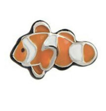Authentic Origami Owl FINDING NEMO CLOWN FISH Floating Enamel Charm BRAND NEW