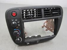 99-00 Honda Civic Radio Surround Climate Control Dash Bezel Trim NO A/C EH