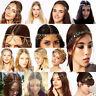 Lot Stylish Rhinestone Head Chain Jewelry Headband Head Piece Hair Band Wedding
