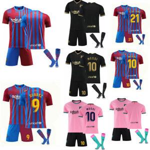 20/21 Kits Socks Club Boys Sportswear Kids Shirt Jersey Football Adult