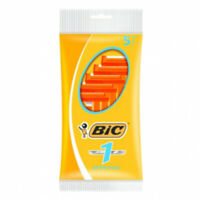 Bic 1 Blade Disposable Razors Sensitive Shaving Hair Removal 5 Pack