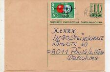 Suiza Entero Postal con franqueo Complementario circulado año 1969 (DL-591)