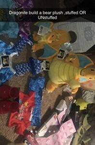Build-a-Bear Dragonite with Cap and Cape