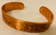 PURE COPPER MAGNETIC CUFF/BRACELET ARTHRITIS PAIN THERAPY, NEW