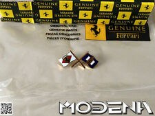 Ferrari Emblem 35 mm Crossed Flags Pininfarina Ornament 512 430 360 550 575 355