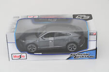Maisto Lamborghini Urus Collectable Toy Car Dark Gray Diecast Vehicle 1 18