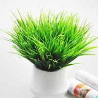 1 Piece Verde Falsa Plantas Artificiales Decoración Hogareña El Plastico