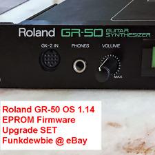 Roland GR-50 OS v1.14 EPROM Firmware Upgrade SET