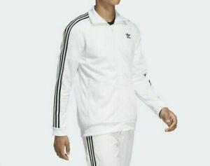 MED  adidas Originals MEN'S  BECKENBAUER TRACKSUIT  JACKET & PANTS  White  LAST1