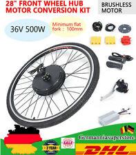 "28"" 36V E-Bike Conversion Kit Umbausatz Vorderrad Elektrofahrrad Set 500W Motor"