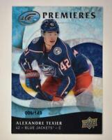 2019-20 ICE Ice Premieres Retro #35 Alexandre Texier RC /149