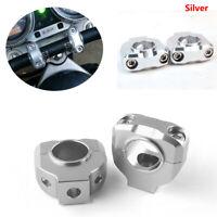 Motorcycle Aluminum Screw Hole 28.6mm 1-1/8''HandleBar Risers Fat Mount Clamp