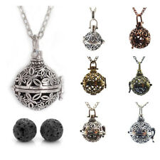 Multi-Styles Aromatherapy Fragrance Necklace Diffuser Bola Locket Volcanic Stone